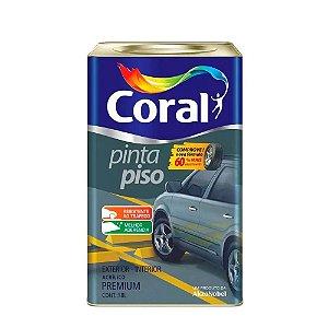 Tinta Coral Pinta Piso Acrílica Premium Lata 18 Litros Verde