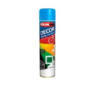 Tinta Spray Colorgin 862 Decor Azul Medio