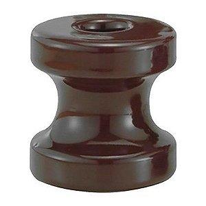 Roldana de Porcelana FoxLux 67x72mm Embalagem com 10 Unidades