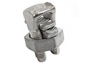 Conector Parafuso Fendido Cabos Fios 25mm Split Bolt Metal com 20 Unidades