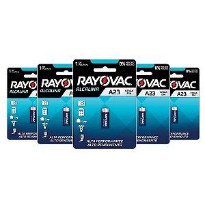 Bateria Pilha Rayovac V23GA 12V Alcalina Alarme e Portão