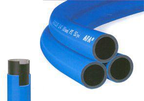 """Mangueira Dupla Pressão 1/2"""" x 2,0mm Azul/Preta Rolo com 50 Metros"""
