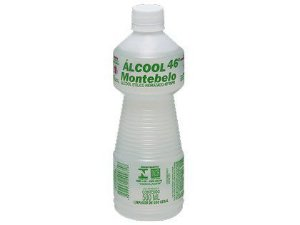 Álcool Liquido Montebelo 46º para Limpeza Geral 500ml Caixa com 12 Unidades