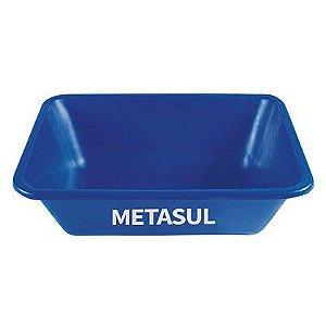 Caixa para Massa Metasul Azul 50 Litros Cor Azul