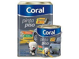 Tinta Pinta Piso Coral Premium Cinza Médio Lata 18 Litros