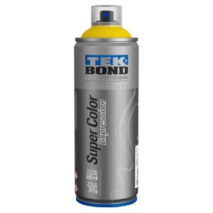 Tinta Spray TekBond Super Color Expression Amarelo Slime 509 400ml