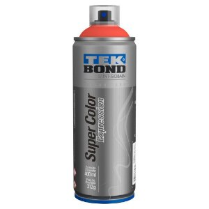 Tinta Spray TekBond Super Color Expression Vermelho Pimenta 521 400ml