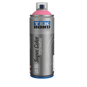 Tinta Spray TekBond Super Color Expression Rosa Candy 527 400ml