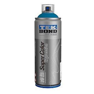 Tinta Spray TekBond Super Color Expression Azul Royal 543 400ml