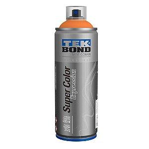 Tinta Spray TekBond Super Color Expression Laranja 514 400ml