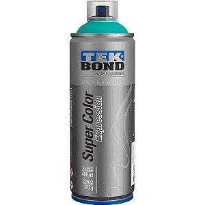 Tinta Spray TekBond Super Color Expression Verde Aquário 558 400ml