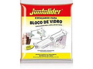 Espaçador para Tijolo de Vidro Juntalider 10mmx8cm Embalagem com 60 Unidades