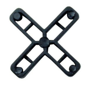 Espaçador para Piso Trifixi 1,5mm Cruzeta 10 Pacotes
