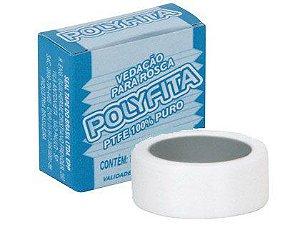 Fita Veda Rosca Polyfita 18mm x 10m Caixa com 120 Unidades