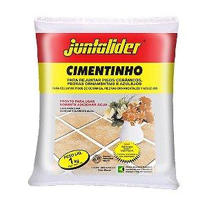 Cimento Juntalider Branco Pacote com 20 Sacos 01 kg Cada
