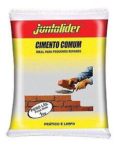 Cimento Juntalider Comum Pacote com 20 Sacos 01 kg Cada