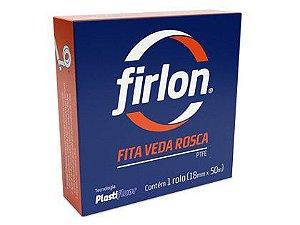 Fita Veda Rosca Firlon 18mm x 10m Caixa com 60 Unidades