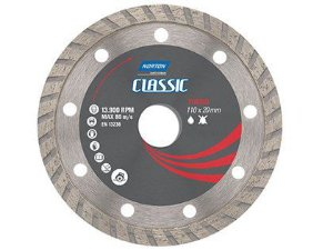 Disco Norton Classic Diamantado Turbo 110 x 20 mm