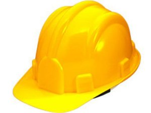 Capacete de Segurança ProSafety com Carneira Amarelo