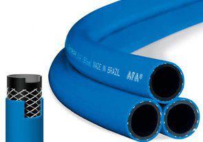 """Mangueira Garden Flex Afa 1/2""""x2,2mm Para Jardim Trançada Azul Safira com 50 Metros"""