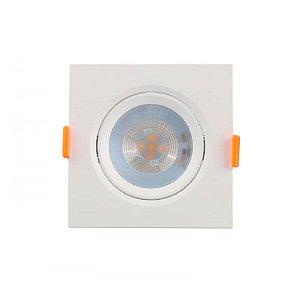 Spot Demi com Lampada Led Amarela Quadrada 5W 6500K