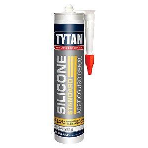 Adesivo Selante Multiuso Tytan Acético 260g Incolor