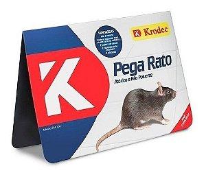 Ratoeira Adesiva Krodec Cola Pega Rato Pacote com 20 Unidades