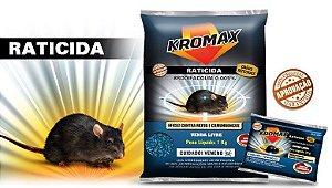 Raticida Kromax 20 gramas cada Pacote com 50 unidades