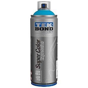 Tinta Spray TekBond Super Color Expression Azul Turquesa 546 400ml