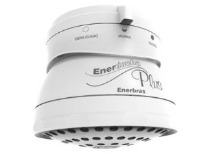 Chuveiro Elétrico Ducha Enerbras Plus Branco 110v  4400w