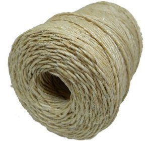 Barbante de Sisal Fio 500/1 Natural 250 gr