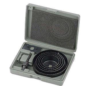 Jogo de Serra Copo para Madeira MTX 64 a 127mm com 08 Peças