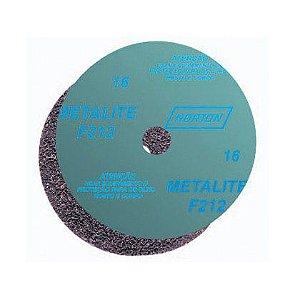 Disco de Lixa Norton F212 180x22mm Grão 36 com 10 Unidades