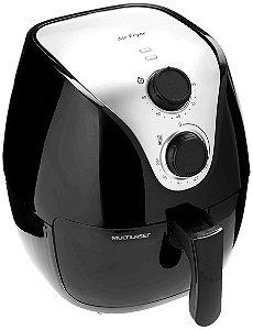 Fritadeira Elétrica Multilaser Air Fryer 1500w 110v com Grade