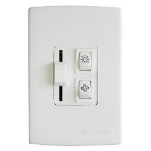 Controle para Ventilador e Lampada Qualitronix Qv36 Branco
