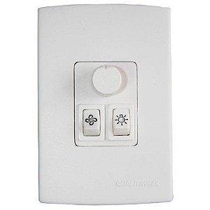 Controle para Ventilador e Lampada Qualitronix Qv37 Branco