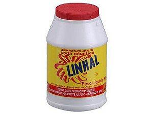 Soda Cáustica Linhal 500g Caixa com 6 Unidades