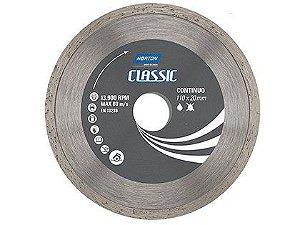 Disco Diamantado Norton Classic Contínuo 110x20mm