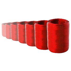 Fitilho Bella Fiori Vermelho com 50m F2 Embalagem com 10 Unidades