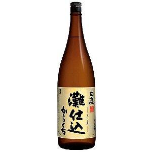 Sake Hakushika Nadajikomi Karakuchi 1.8L