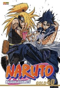 Naruto Gold -  Edição 40
