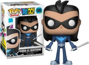 Pop Robin as Nightwing: Teen Titans Go