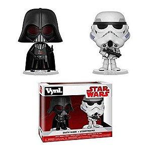 Funko Vynil Darth Vader + Stormtrooper: Star wars