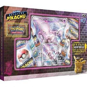 Box Pokémon Mewtwo GX Detetive Pikachu
