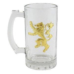 Caneca Emblema Metal Lannister