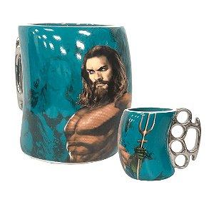 Caneca Soco Inglês Aquaman