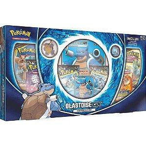 Pokemon Box - Coleção Premium - Blastoise- GX