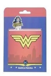 Marca Página Alumínio Wonder Woman
