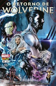 O Retorno de Wolverine - Volume  4