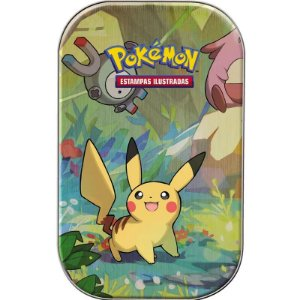 Pokémon - Deck Lata - Amigos de Kanto - Pikachu